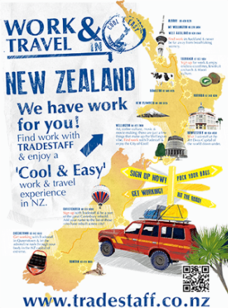 Work & Travel Tradestaff Poster